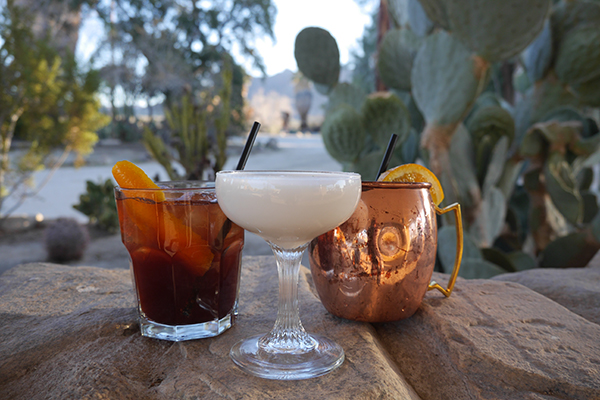 29 Palms Inn - Mojave Monument Drinks