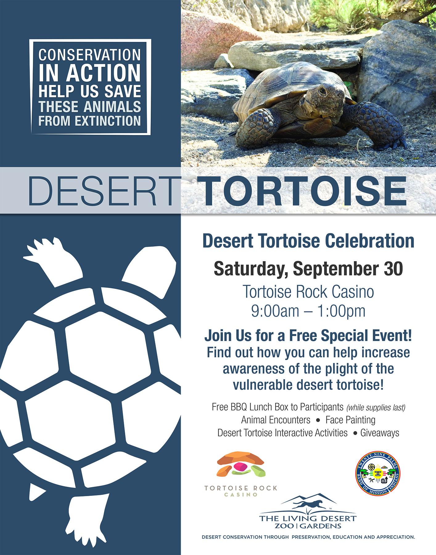 Desert Tortoise Celebration Sept 30,2017