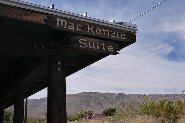 MacKenzie Suite sign