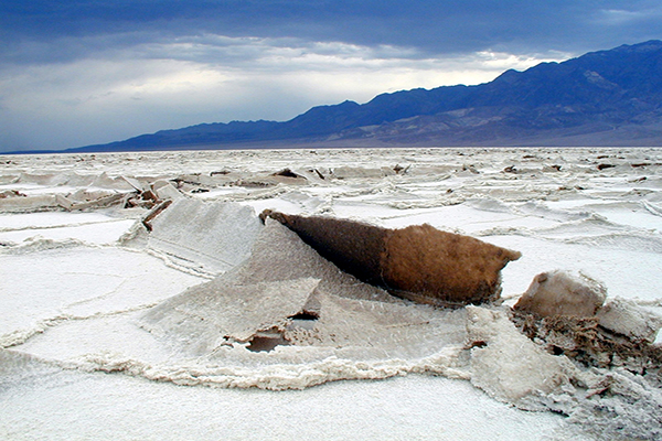 Uplift in the Sand Flats at Death Valley National Park NPS Photo