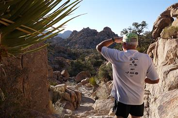 Walk the Hidden Valley Nature Trail at Joshua Tree National Park