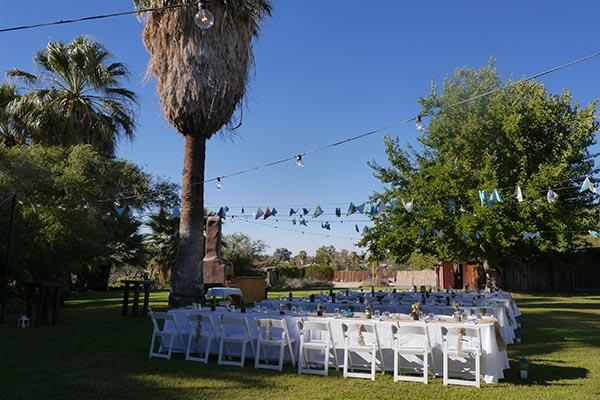 29 Palms Inn Wedding Reception